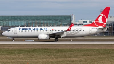 A picture of TCJZF - Boeing 7378F2 - Turkish Airlines - © Niklas Engel