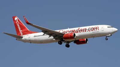 TC-TJP - Boeing 737-8BK - Corendon Airlines