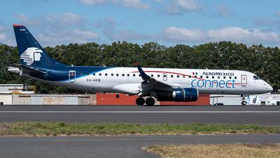 A picture of XAAEM - Embraer E190LR - Aeromexico Connect - © Juan Manuel Galvez