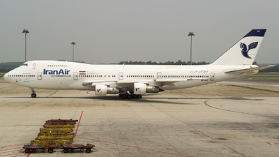 EP-IAG - Boeing 747-286B(M) - Iran Air
