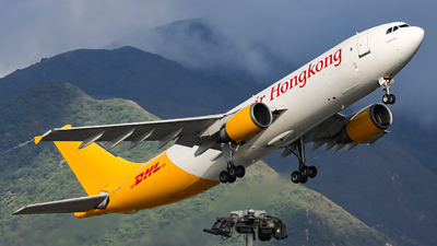 A picture of BLDE - Airbus A300F4605R - DHL - © Jack Sin - HKPSA