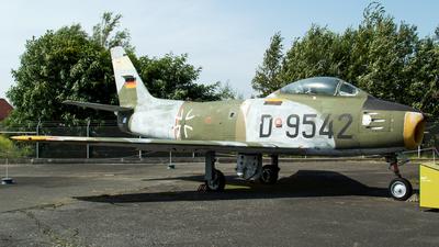 D-9542 - Canadair CL-13B-6 Sabre - Germany - Air Force