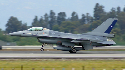 741 - General Dynamics F-16AM Fighting Falcon - Chile - Air Force