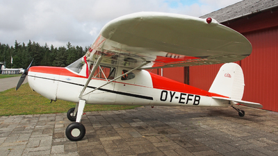 OY-EFB - Cessna 140 - Private
