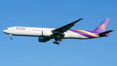HS-TKQ - Boeing 777-3ALER - Thai Airways International