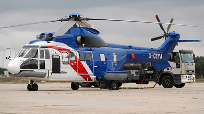 G-CEYJ - Aérospatiale AS 332L1 Super Puma - Bristow Helicopters