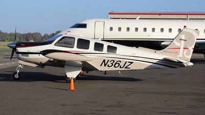 N36JZ - Beechcraft G36 Bonanza - Private