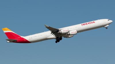 EC-IZX - Airbus A340-642 - Iberia