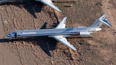 N492AA - McDonnell Douglas MD-82 - Untitled