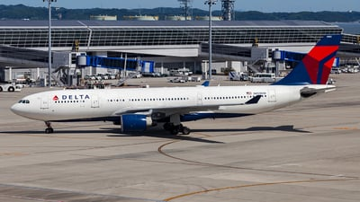 N853NW - Airbus A330-223 - Delta Air Lines