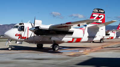 N435DF - Grumman S-2F3AT Turbo Tracker - United States - California Department of Forestry