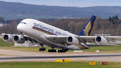 A picture of 9VSKZ - Airbus A380841 - Singapore Airlines - © Pawel Guraj