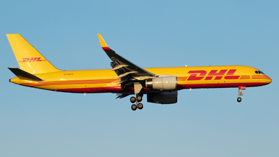A picture of GDHKN - Boeing 757223(PCF) - DHL - © RAFAL KUKOWSKI