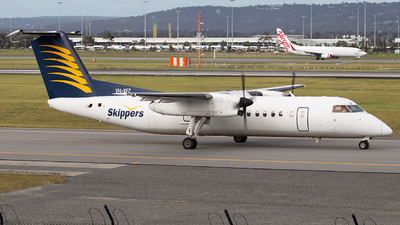 VH-XFZ - Bombardier Dash 8-314 - Skippers Aviation
