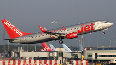 A picture of GGDFV - Boeing 73785F - Jet2 - © BrierleyAviation