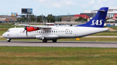 OY-JZV - ATR 72-212A(500) - Scandinavian Airlines (Jettime)
