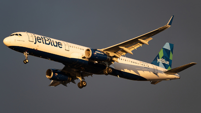 N954JB - Airbus A321-231 - jetBlue Airways