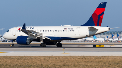 A picture of N127DU - Airbus A220100 - Delta Air Lines - © bill wang
