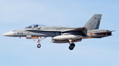 C.15-27 - McDonnell Douglas EF-18M Hornet - Spain - Air Force