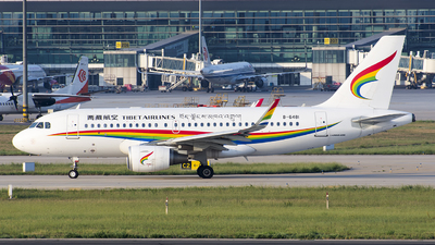 B-6481 - Airbus A319-115 - Tibet Airlines