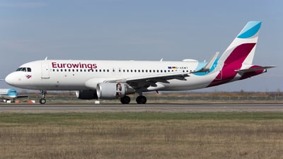 A picture of DAEWT - Airbus A320214 - Eurowings - © Mihai Cioponea