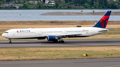 A picture of N839MH - Boeing 767432(ER) - Delta Air Lines - © Yan777