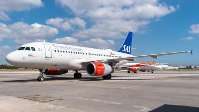 A picture of OYKBR - Airbus A319131 - SAS - © Marcello Montagna spotter_napoli