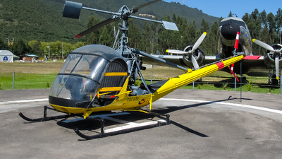 FAC220 - Hiller OH-23B Raven - Colombia - Air Force