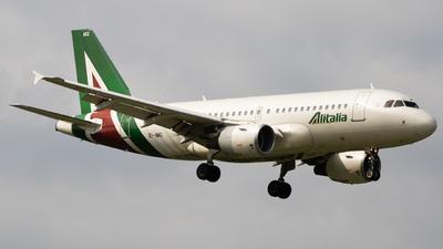 A picture of EIIMG - Airbus A319112 - Alitalia - © Manuel Mancasola