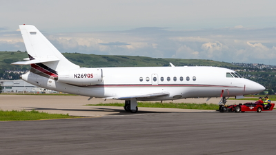 A picture of N269QS - Dassault Falcon 2000 - NetJets - © Stefan Bratner