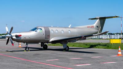 LX-JFR - Pilatus PC-12/47E - Jetfly Aviation