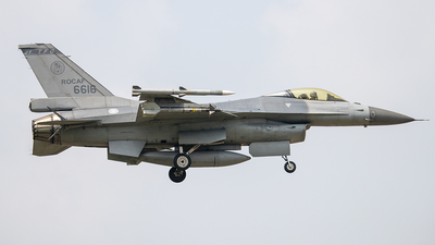 6616 - Lockheed Martin F-16 Fighting Falcon - Taiwan - Air Force