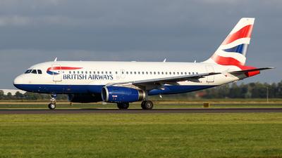 G-EUPK - Airbus A319-131 - British Airways