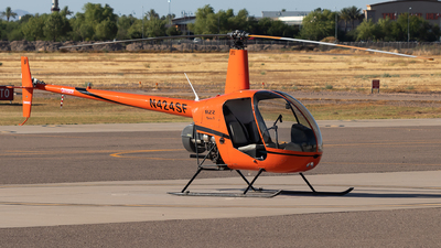 N424SF - Robinson R22 Beta II - Private