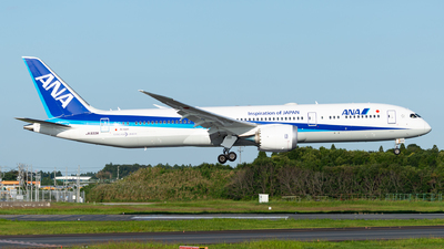 A picture of JA933A - Boeing 7879 Dreamliner - All Nippon Airways - © M Tanibata