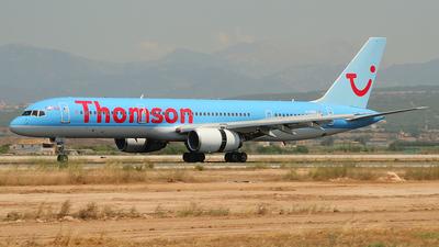 G-OOBI - Boeing 757-2B7 - Thomson Airways
