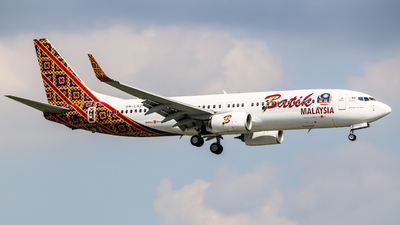 9M-LNZ - Boeing 737-8GP - Batik Air Malaysia