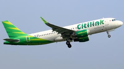 A picture of PKGQU - Airbus A320214 - Citilink - © ARafiNA