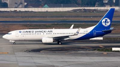 A picture of B1557 - Boeing 73785C - Jiangxi Air - © Marcus Yu
