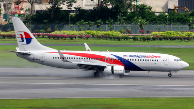 9M-MSD - Boeing 737-8H6 - Malaysia Airlines