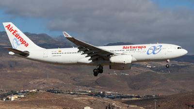 EC-LQP - Airbus A330-243 - Air Europa