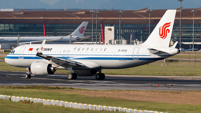 A picture of B30C8 - Airbus A320271N - Air China - © william8252