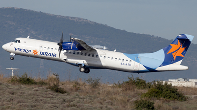 A picture of 4XATH - ATR 72500 - Israir Airlines - © Oksana