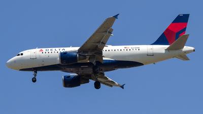 N314NB - Airbus A319-114 - Delta Air Lines