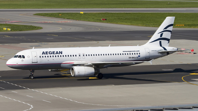 A picture of SXDGJ - Airbus A320232 - Aegean Airlines - © Rafal Pruszkowski