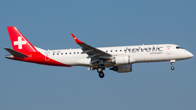 HB-JVQ - Embraer 190-100LR - Helvetic Airways