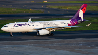 A picture of N361HA - Airbus A330243 - Hawaiian Airlines - © John Zhao