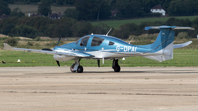 G-DPAI - Diamond Aircraft DA-62 - Private