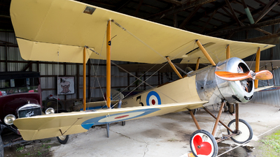 N5139 - Sopwith Pup - Old Rhinebeck Aerodrome Museum