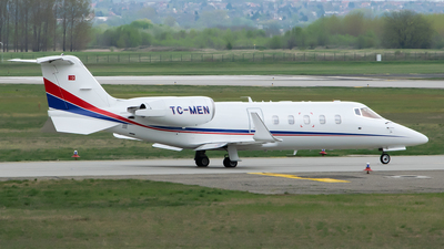 TC-MEN - Bombardier Learjet 60 - Turkmen Air